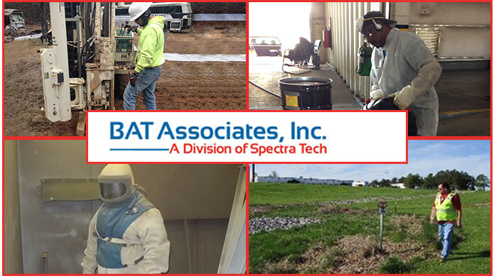 BAT Associates, Inc. offers Environmental, Industrial Hygiene/Heath, and Storm Water services